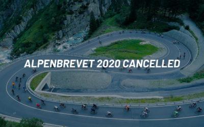 Annulation de l'Alpenbrevet 2020