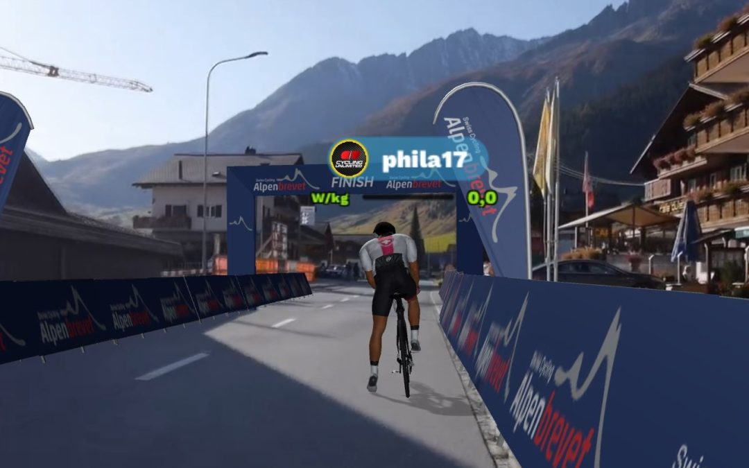 NOW: Alpenbrevet Challenge on ROUVY
