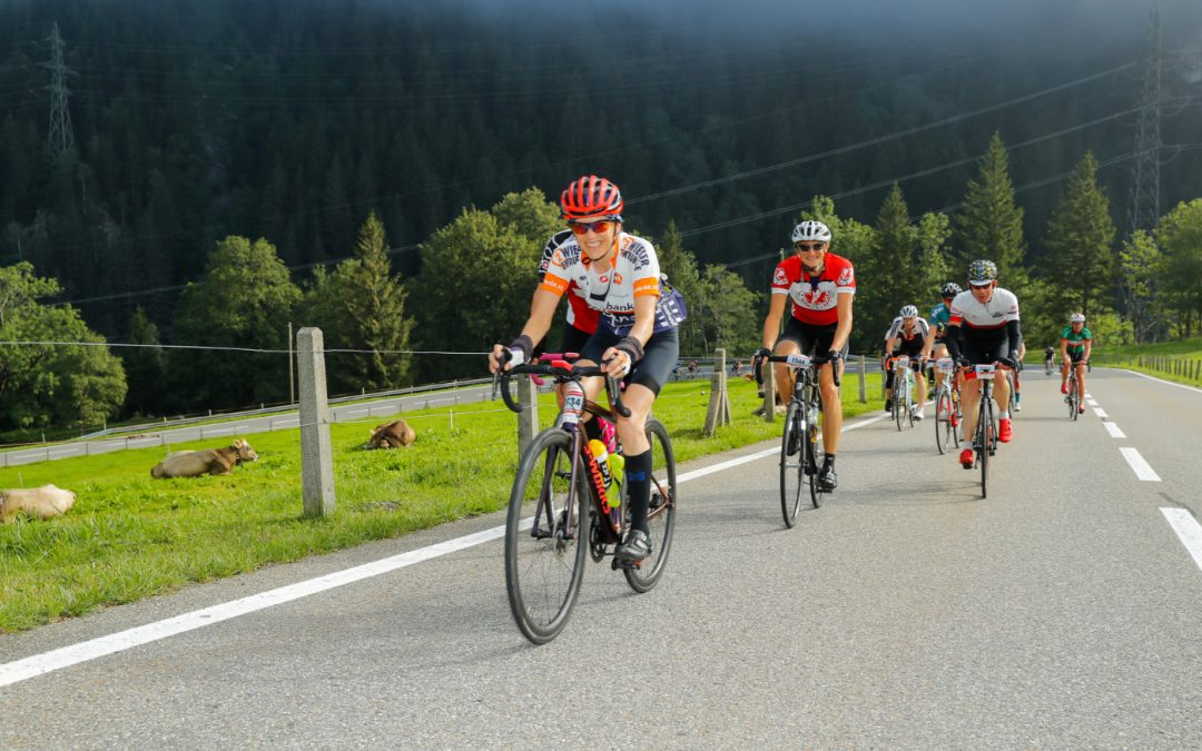 The right clothing for a Gran Fondo at the Alpenbrevet